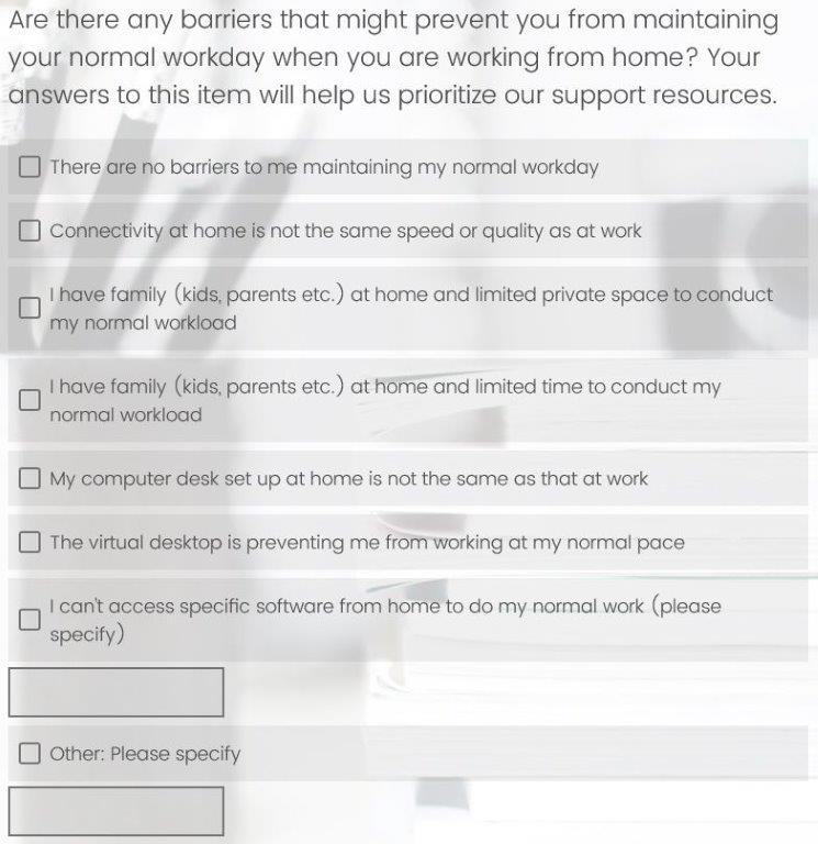 Remote Work Readiness Evaluation