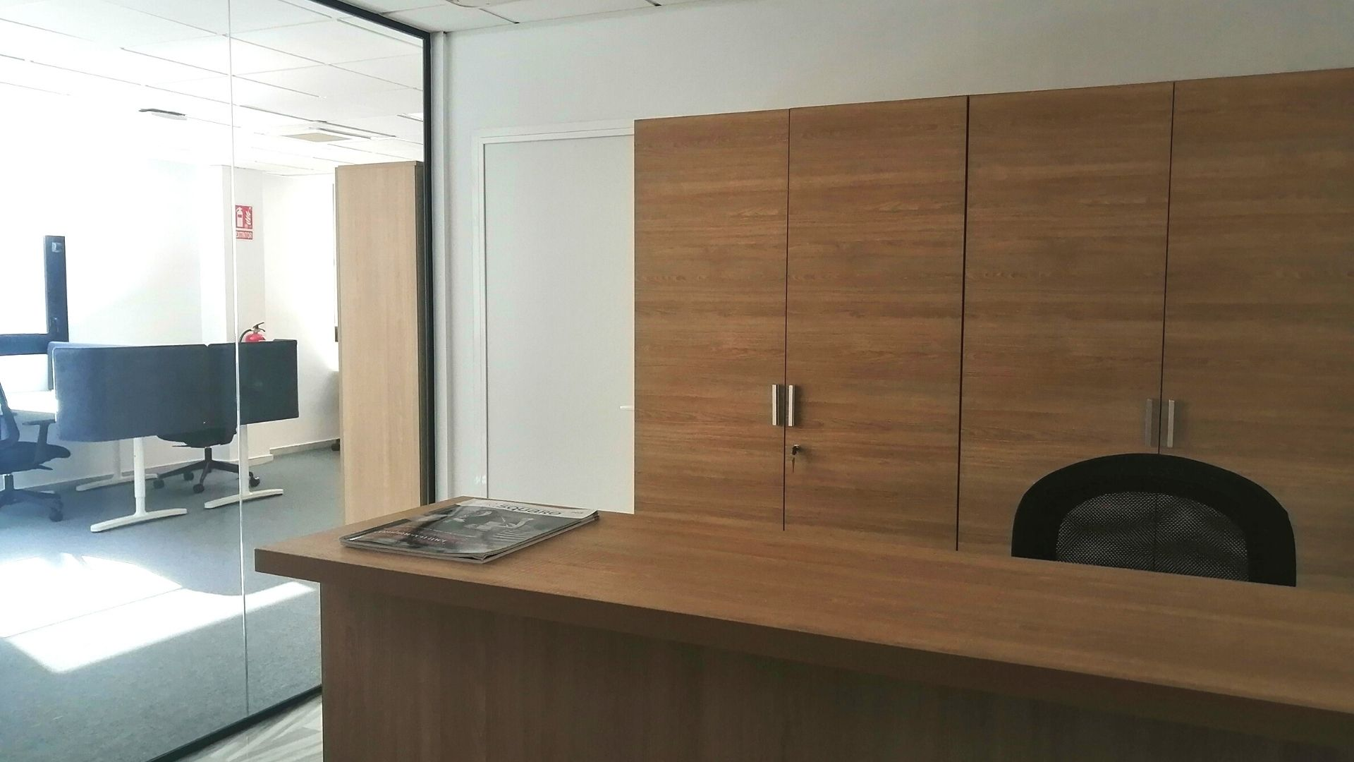 Our new Adessa office in Malaga is open! - reception