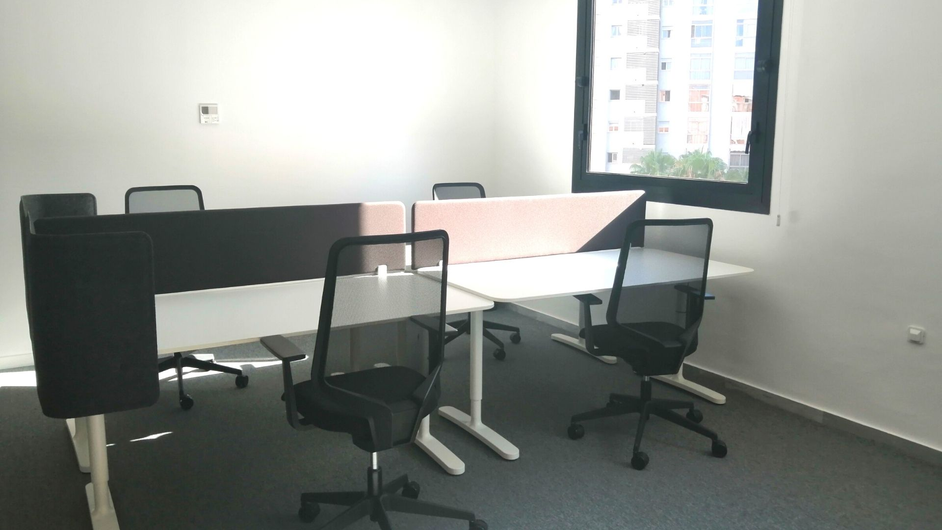Our new Adessa office in Malaga is open! - first desks